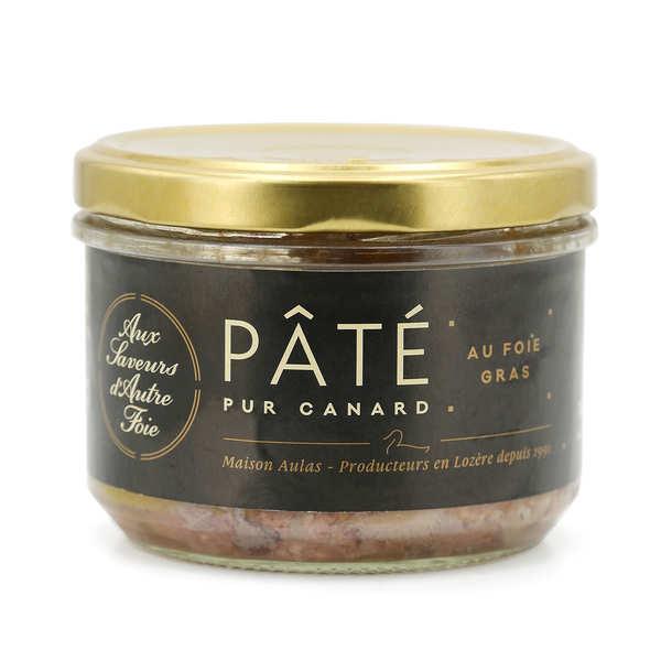 Pâté pur canard au foie gras de canard