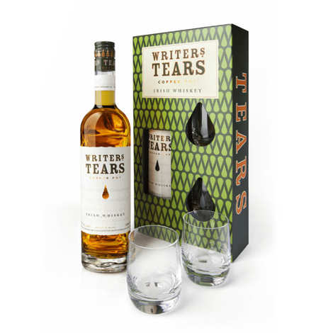 Writer's Tears - Whisky Writer's Tears Copper Pot - Coffret 2 verres -  40%