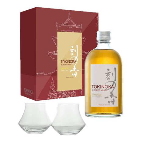 Tokinoka - Whisky Tokinoka - Coffret 2 verres warm -  40%