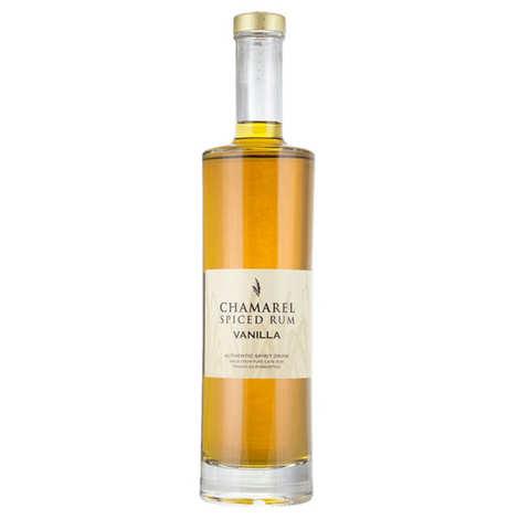 Rhumerie de Chamarel - Rhum Chamarel Vanilla - Coffret 2 gousses de vanille -  40%