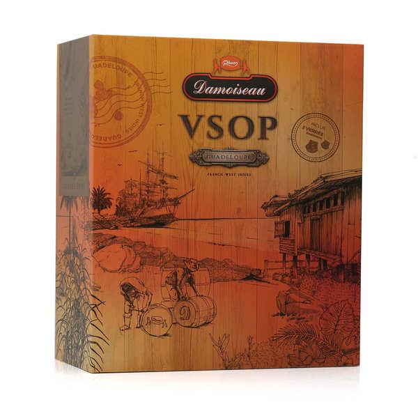 Rhum Damoiseau VSOP - Coffret 2 verres -  42%