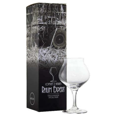 Chef & Sommelier - Coffret de 2 verres dégustation à Rhum Dugas
