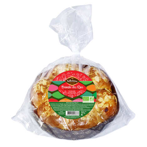 Belledonne Chocolatier - Organic Brioche with Candied Fruit