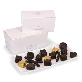 Hadrien chocolatier - Ballotin assortiment de chocolats - Hadrien chocolatier