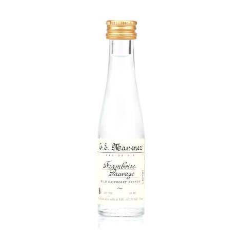 G. E. Massenez - Mignonnette d'eau de vie framboise sauvage 40%
