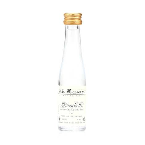 G. E. Massenez - Mignonnette d'eau de vie mirabelle 40%