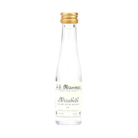G. E. Massenez - Sample bottle of Mirabelle Eau de Vie 40%