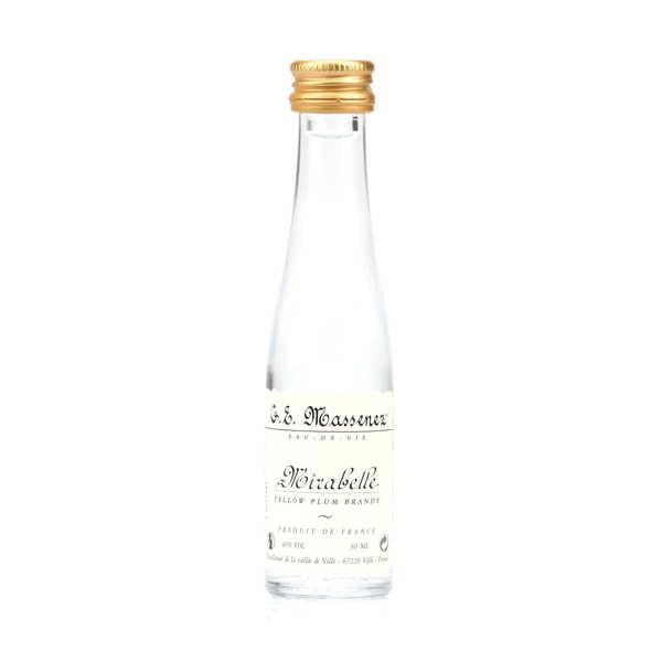 Mignonnette d'eau de vie mirabelle 40%