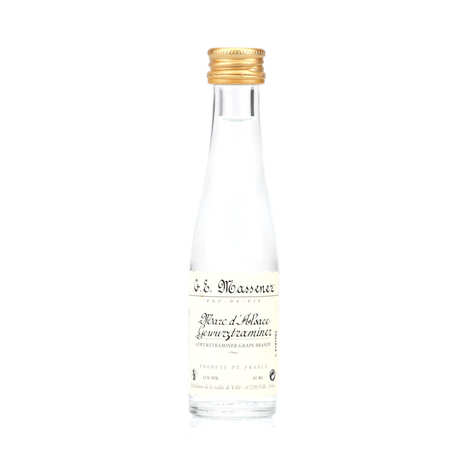G. E. Massenez - Sample bottle of Alsace Gewurztraminer Marc 45%