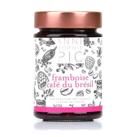 Anne-Sophie PIC - Confiture de framboise café du Brésil