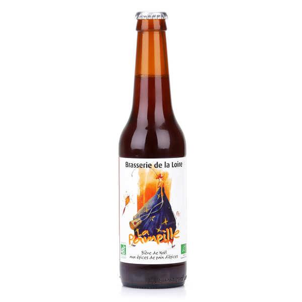 La pampille - bière de noël bio rousse aux épices 6.5% - bouteille 33cl
