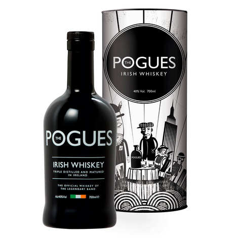 West Cork Distillers - Whisky iralndais The Pogues 40%