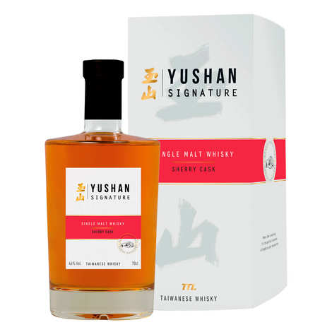 Nantou Distillery - Whisky taïwanais Yushan Signature sherry cask 46%