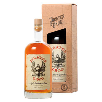 Pirate's Grog - Pirate's Grog 5 ans - Rhum du Honduras 37.5%