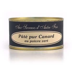 Jean Claude Aulas - Pâté pur canard au poivre vert