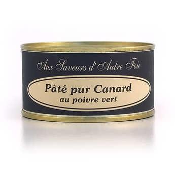 Jean Claude Aulas - Pure Duck Pâté with Green Peppercorns