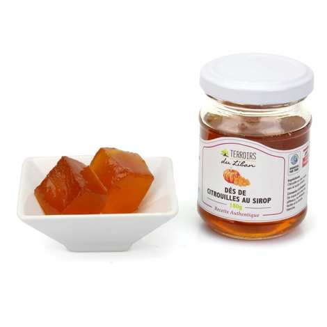 Terroirs du Liban - Pumpkin Cubes in Syrup from Lebanon