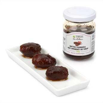 Terroirs du Liban - Dattes aux amandes au sirop du Liban