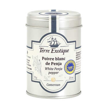 Penja white pepper from Cameroun