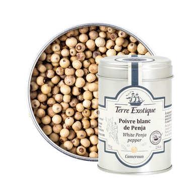 Penja white pepper from Cameroun