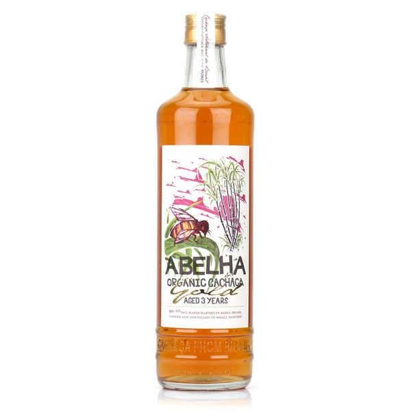 Cachaça bio du Brésil Abelha Gold Organic 39%