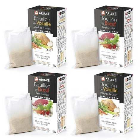 Ariaké Japan - Ariaké beef and chicken bouillon discovery offer