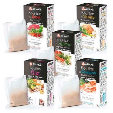 Ariaké bouillons premium offer