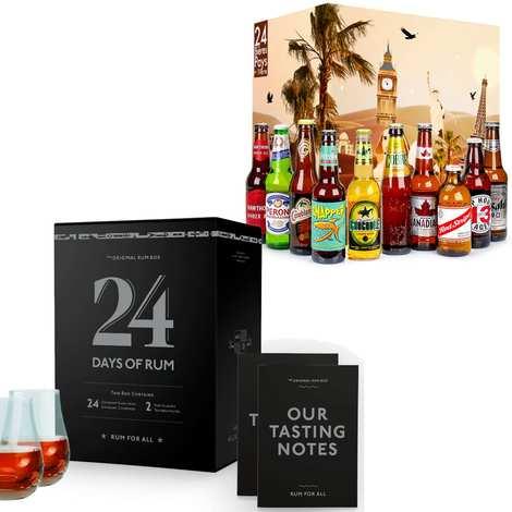 BienManger paniers garnis - Rum and Beers Advent Calendars Discovery Offer