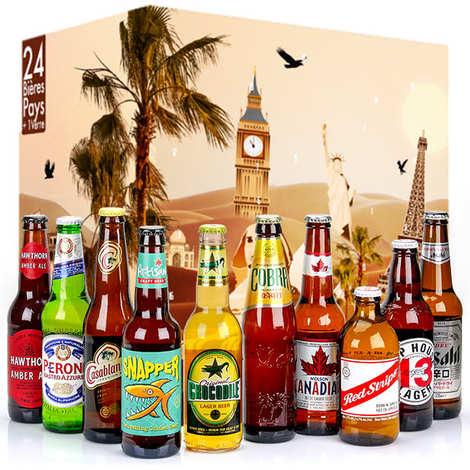 BienManger paniers garnis - Assortiment calendriers de l'avent bières et rhums