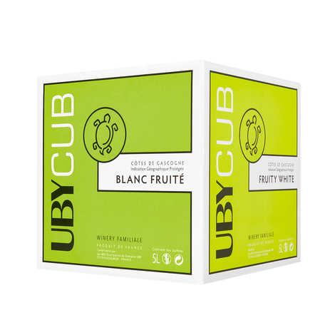 Domaine UBY - UBY CUB Blanc Sec Bib 5L