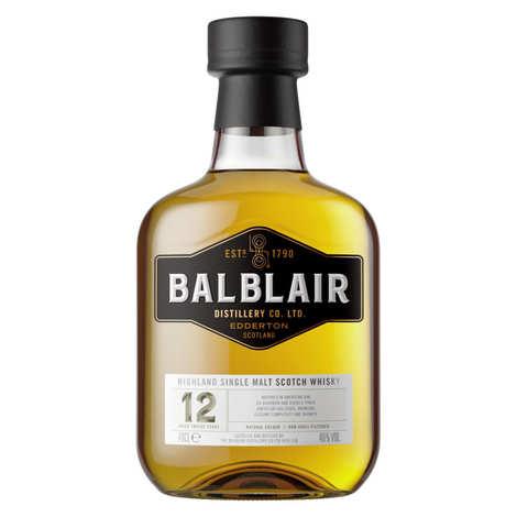 Balblair distillery - Balblair 12 ans single malt scotch whisky 46%