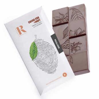 Rrraw - Tablette de chocolat cru (77%) et réglisse bio