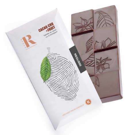 Rrraw - Raw chocolate (77%) with Liquorice