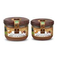 Véritable pâte à tartiner chocolat au lait caramel sans huile de palme bio