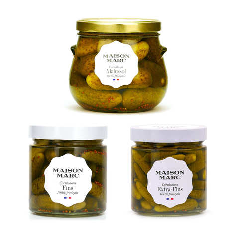Maison Marc - Maison Marc french gherkins discovery offer