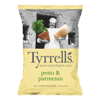 Tyrrells - Potato Crisps with Pesto and Parmesan