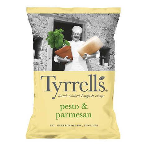 Tyrrells - Chips de pommes de terre au pesto et parmesan