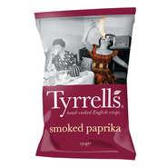 Chips de pommes de terre au paprika fumé