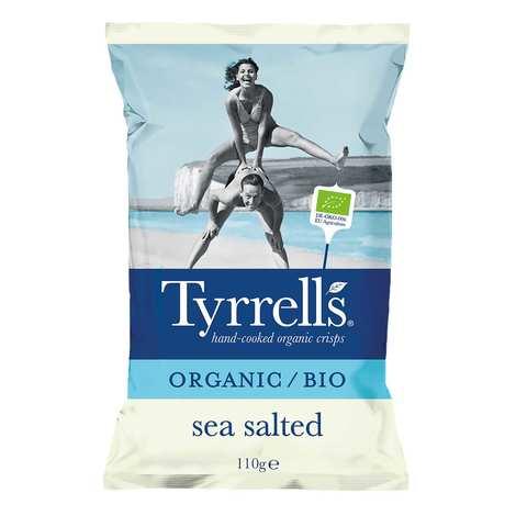 Tyrrells - Chips de pommes de terre salées au sel de mer bio