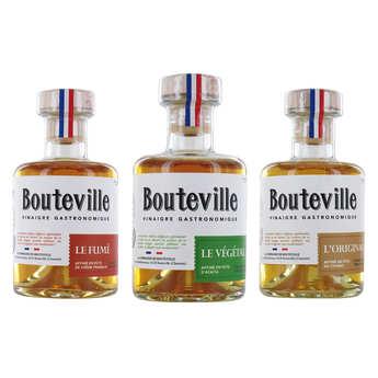 Compagnie de Bouteville - La Triplette de Bouteville - vinaigres gastronomiques