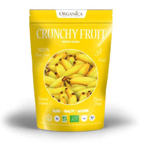 Organica - Crunchy fruit - Organic Freeze-Dried Banana