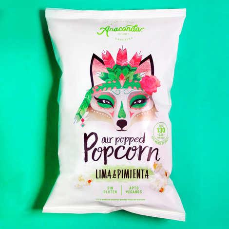 Anaconda - Lemon and Pepper Popcorn - Ancaconda