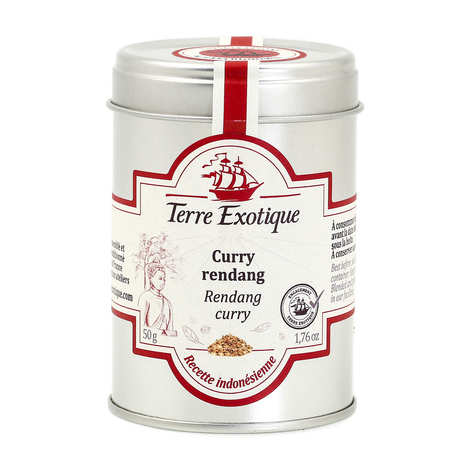 Terre Exotique - Rendang Curry Powder - Indonesia