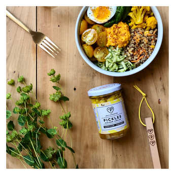 Les 3 Chouettes - Organic Cauliflower and Turmeric Pickles