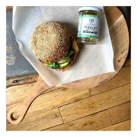 Les 3 Chouettes - Pickles de concombre et aneth bio