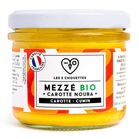 Les 3 Chouettes - Carotte sésame citron cumin à tartiner bio