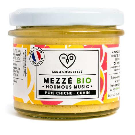 Les 3 Chouettes - Organic Chikpea Sesame Lemon Cumin to Spread