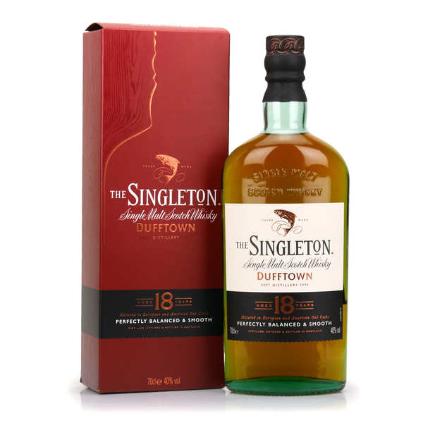 The Singleton of Dufftown 18 years old 40%