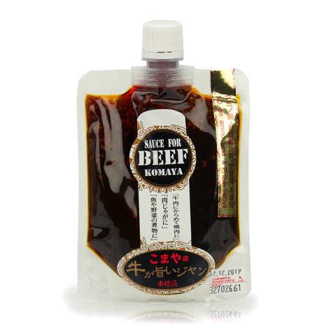 Komaya - Komaya - Sauce japonaise spéciale grillade pour boeuf