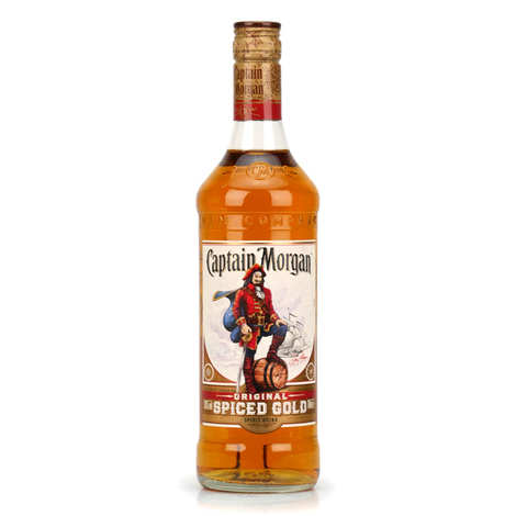 Captain Morgan - Rhum Captain Morgan® - Spiced Rum des Caraïbes 35%